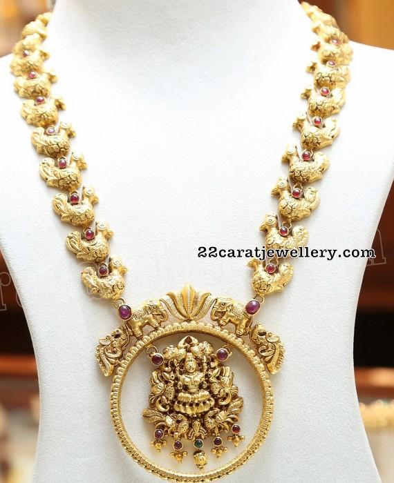 a2109d61d62dc Trendy Antique Long Sets by Malabar Gold - Jewellery Designs