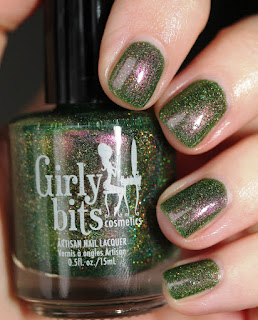 Girly Bits Grandma Got Run Over by a John Deere nail polish Fatal A-Tractor