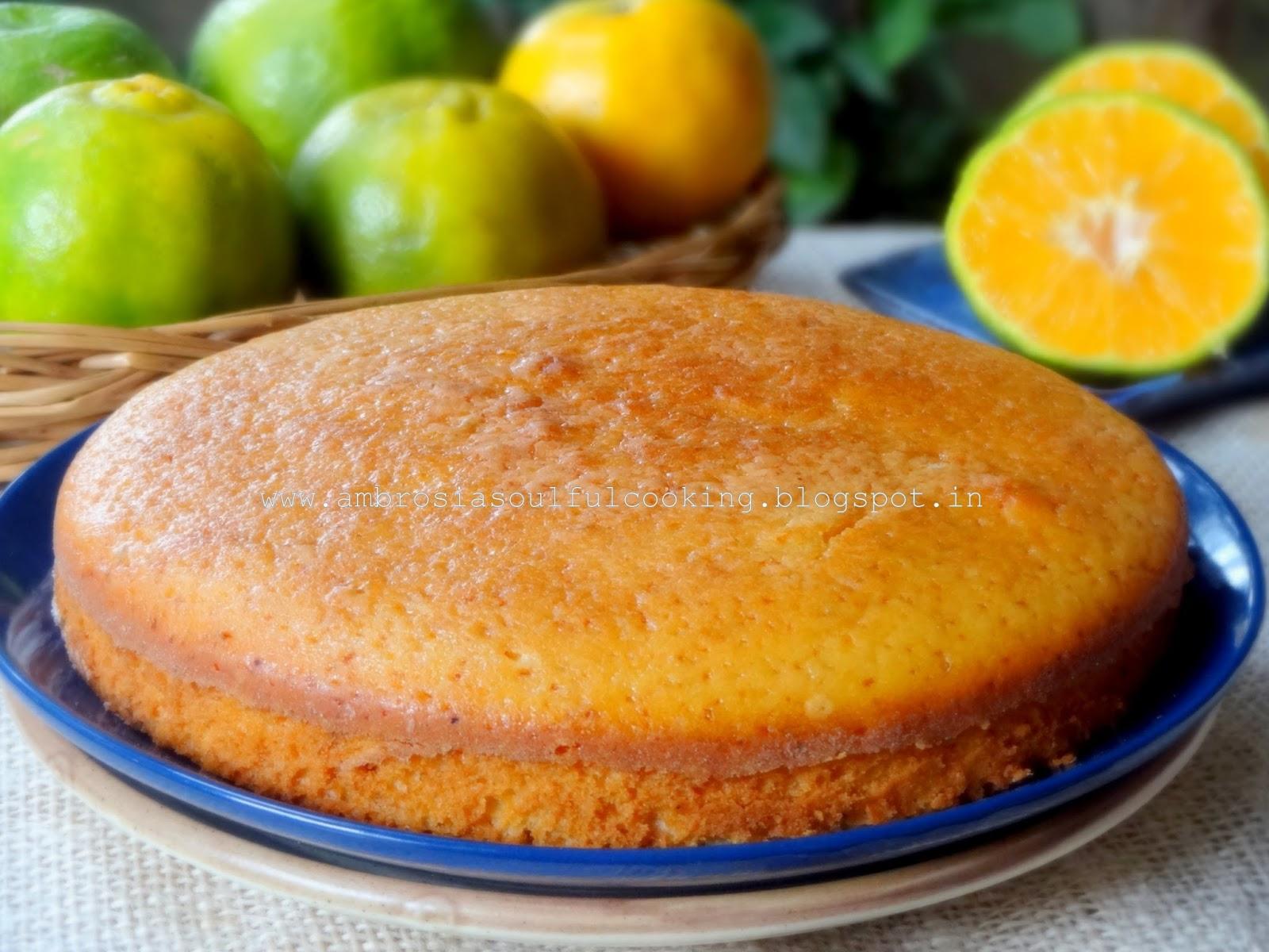 Cake Recipe With Low Fat Yogurt: Low Fat Orange Yogurt Cake