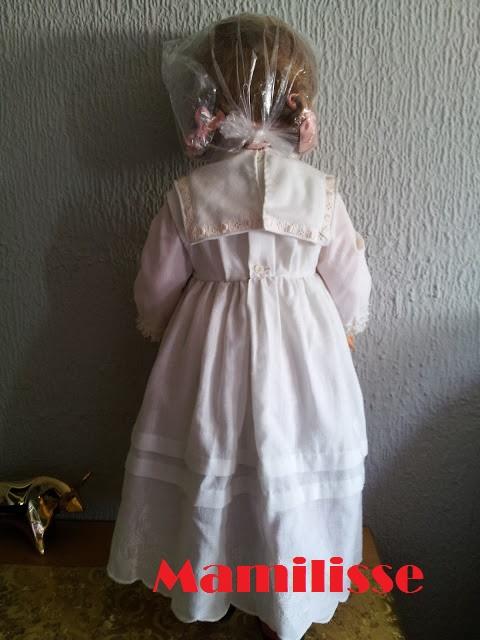 Muñeca Cristina de comunión