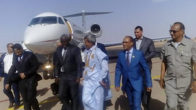 رئيس مفوضية الإتحاد الإفريقي يشرع في زيارة الى الدولة الصحراوية