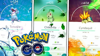 Nuevos Pokemon Anunciados: Totodile, Chikorita y Cyndaquil