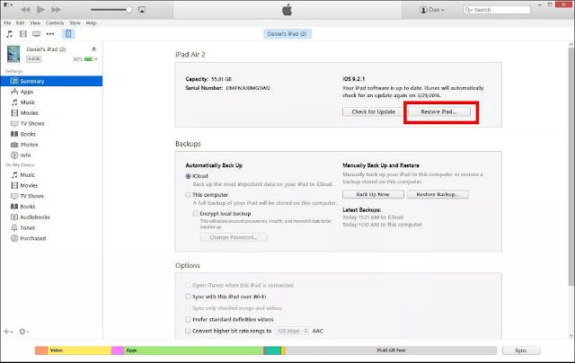 Cara Memperbaiki iPad Frozen di layar 'Hello' atau 'Slide to Upgrade'3
