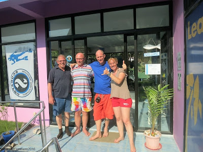 PADI IDC and IDCS courses for March 2016 on Koh Phangan have been completed