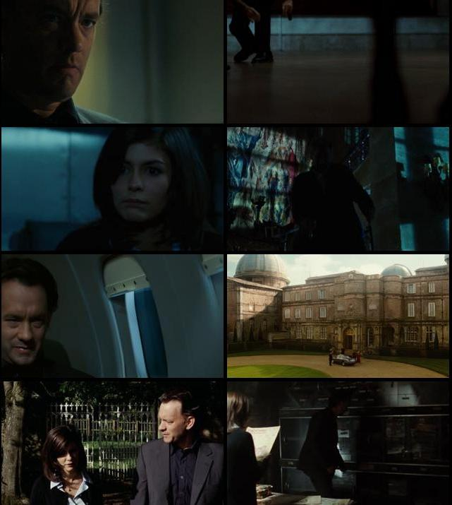 The Da Vinci Code 2006 Extended Dual Audio Hindi 480p BluRay