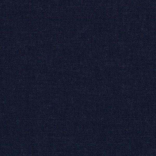 Kaufman Essex Linen Blend Navy Fabric