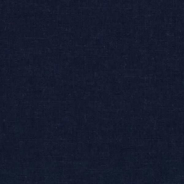 Kaufman Essex Linen Blend Navy Fabric