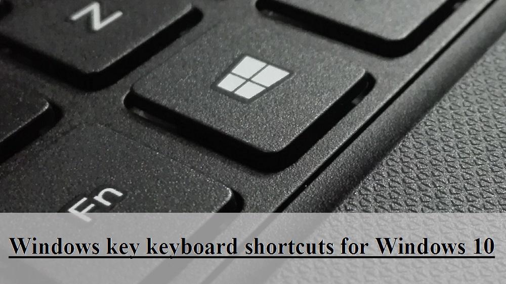 window key on keyboard