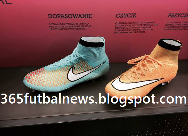 c862e40bd The new Nike September 2014 Football Boot Colorways will be released next  week and were already spotted worn by several players in training.