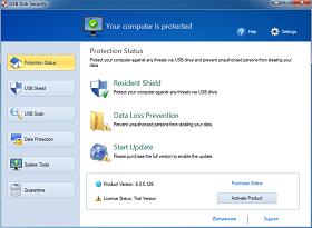 برامج الحماية من الفيروسات, برامج حماية الفلاش من الفيرواسات, تحميل برنامج الحامية من فيرواسات الفلاشات, برامج مجانية للحماية من الفيروسات, Download USB Disk Security 6.2 Free.