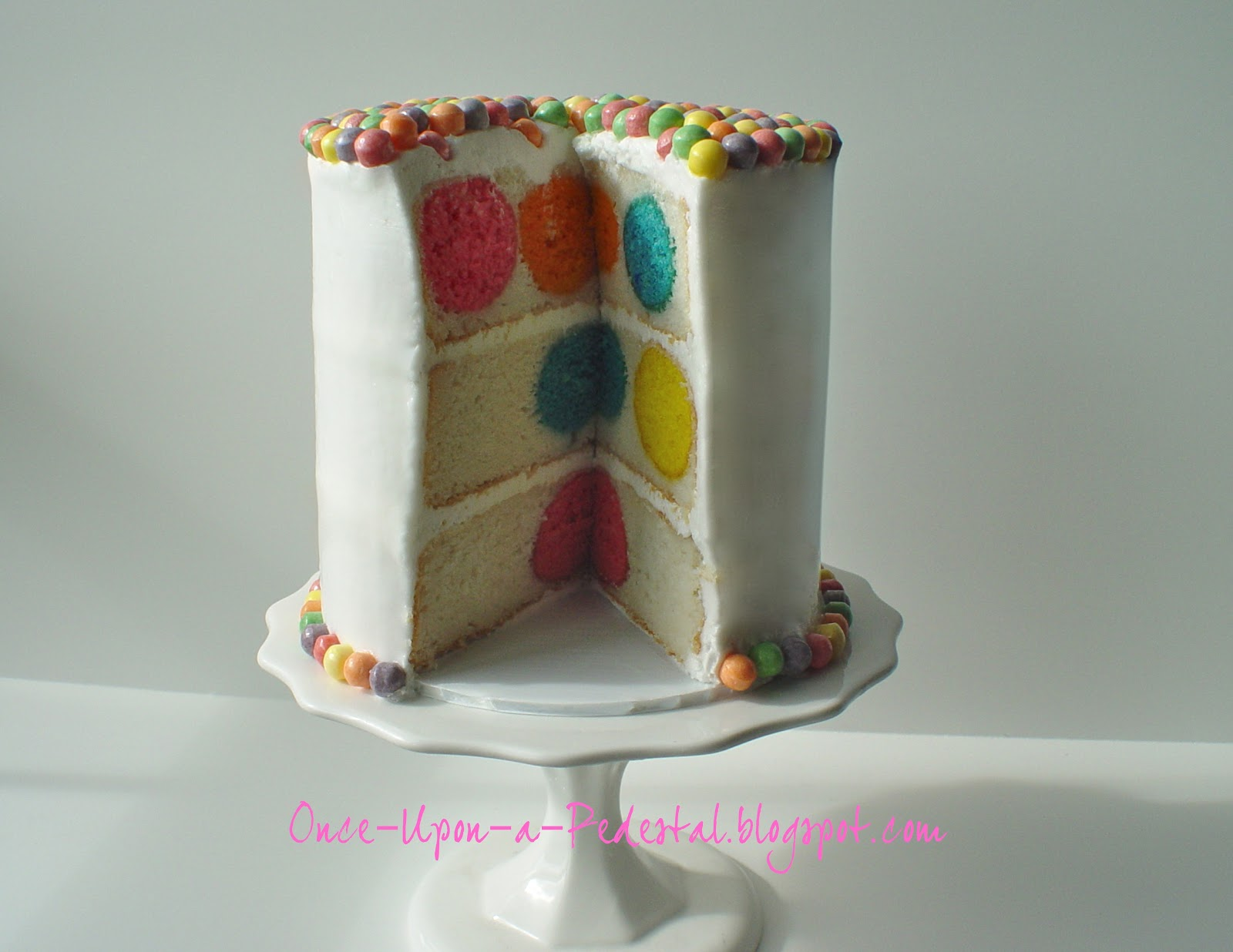 How To Make Suprise Cake