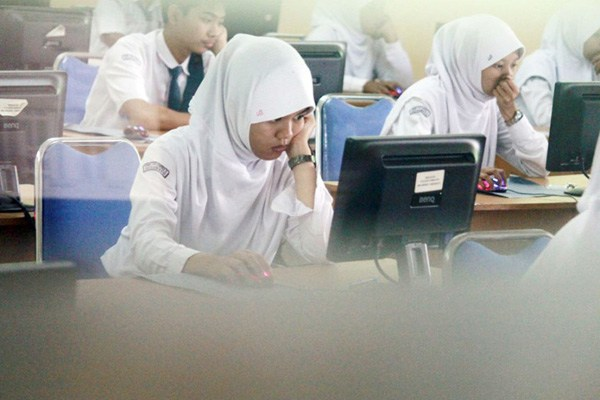 pelajar UN CBT
