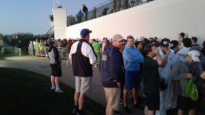 Breakfast Club Entrance Line at the 16th Hole at Phoenix Open 2020