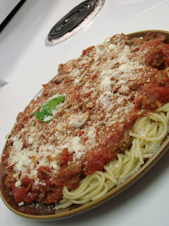 Spaghetti w/Meat Sauce