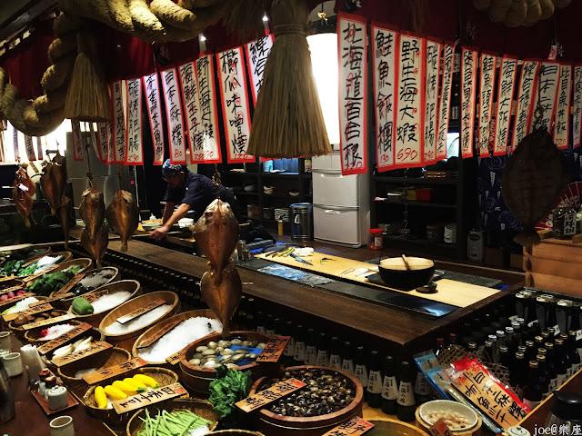 IMG 9750 - 【台中美食】來自日本傳統好滋味的 樂座端爐燒 @日本古早味@新鮮海鮮@新鮮蔬果~