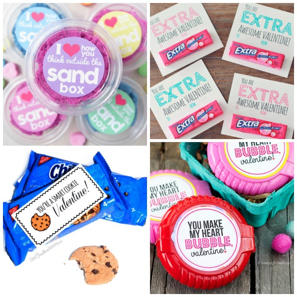 """50+ FREE PRINTABLE VALENTINES FOR KIDS!  Why buy what you can """"make?""""  These are awesome!  #valentinesforkids #freeprintablevalentines #valentinescraftsforkids"""