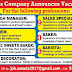 Vacancies at Sweets Company in Kuwait