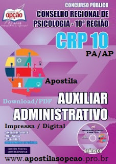 apostila Concurso CRP 10 (PA e AP) 2015.