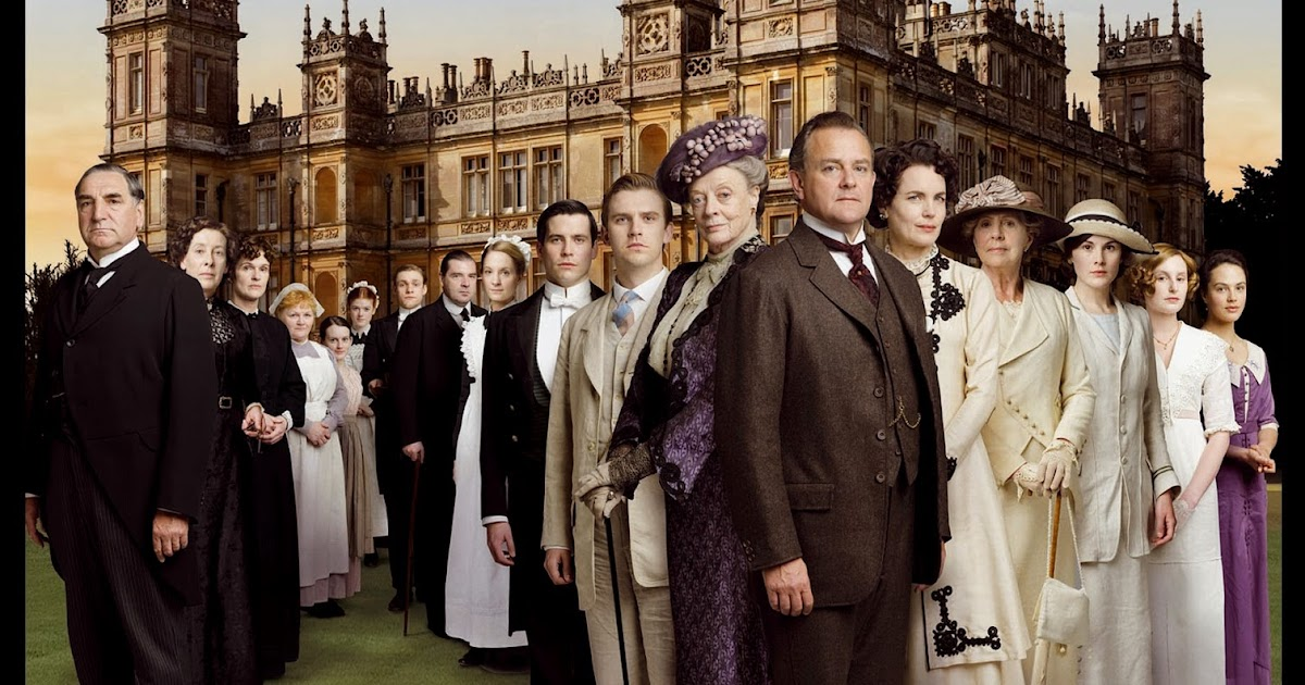 Flower of Iowa: The Haunting of Downton Abbey