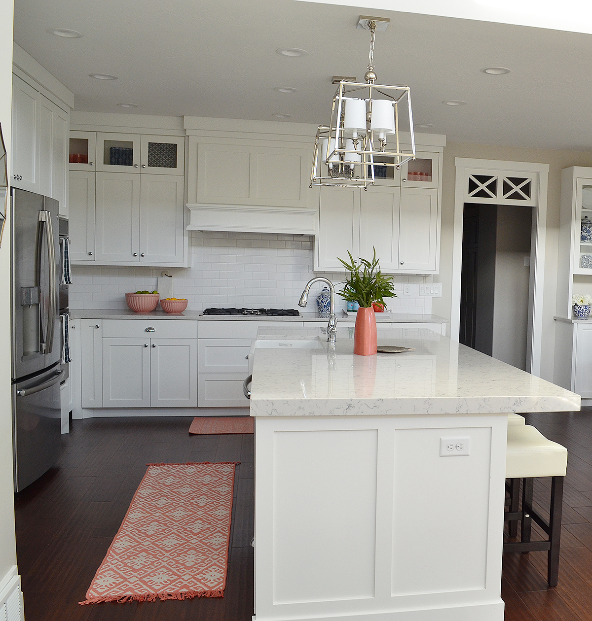 Client Project Reveal: Pretty And Polished Kitchen