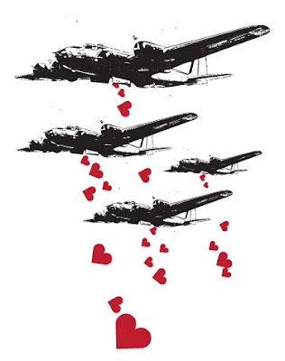 Air Force showering Shells of Love.