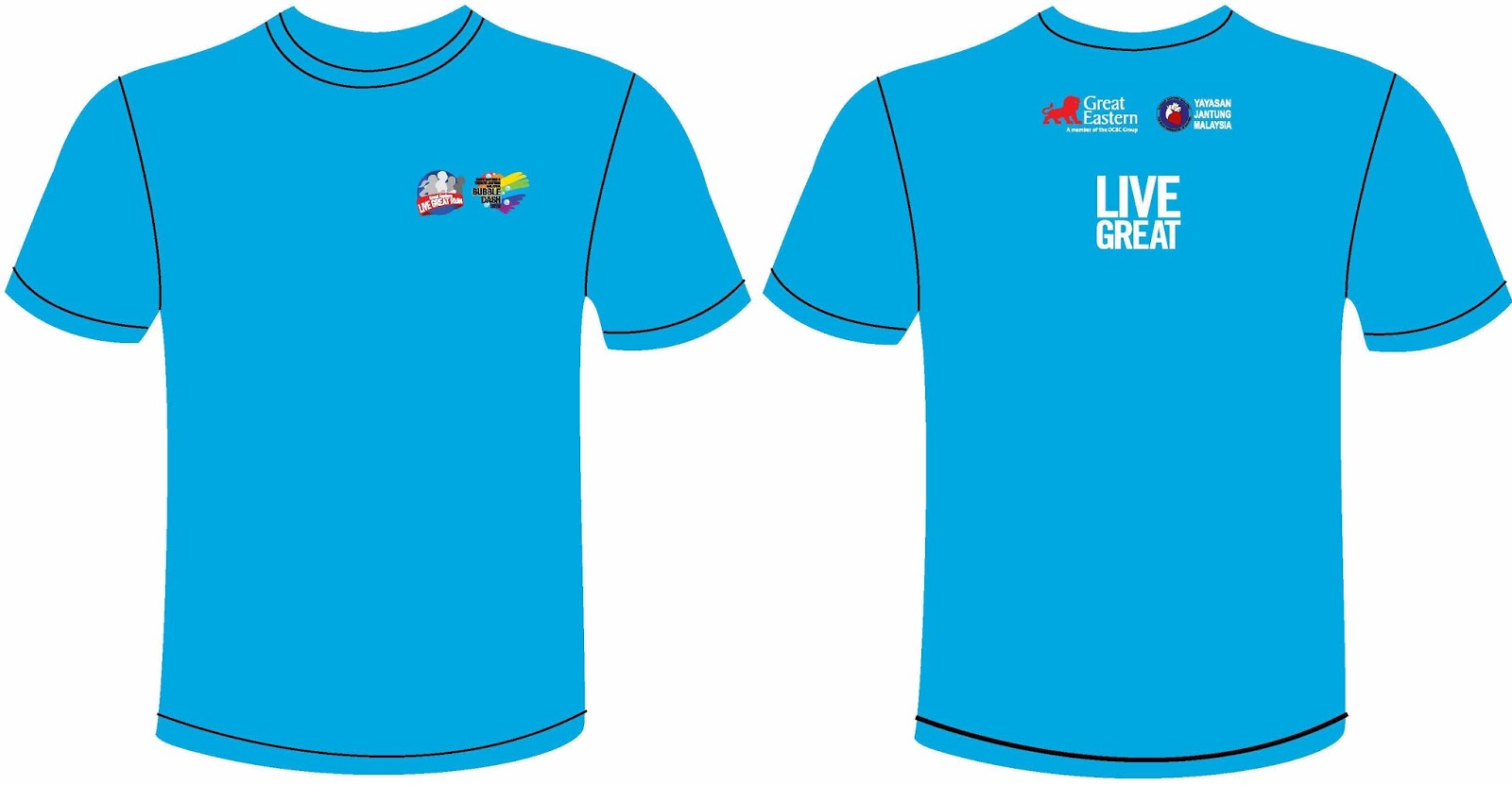 Runnerific great eastern bubble dash kuala lumpur 2016 for I run for meg shirts
