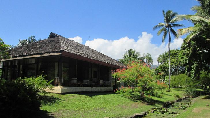 Réception de l'hôtel Royal Tahitien Pirae Tahiti