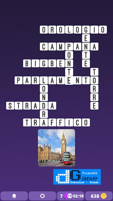 Soluzioni One Clue Crossword livello 11 schemi 6 (Cruciverba illustrato)  | Parole e foto