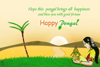 Happy Pongal Greetings for Family