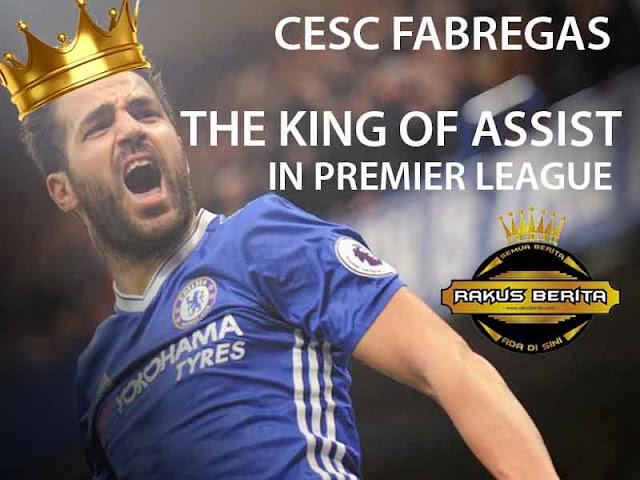 Fabregas Dijuluki Raja Assist Di Premier League