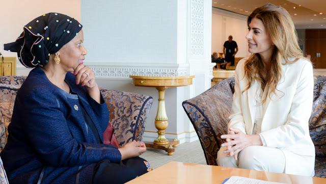 Juliana Awada se reunió con la titular de ONU Mujeres en Nueva York