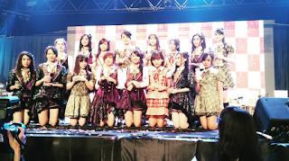 Member Senbatsu Single ke 13 JKT48 Mae Shika Mukanee