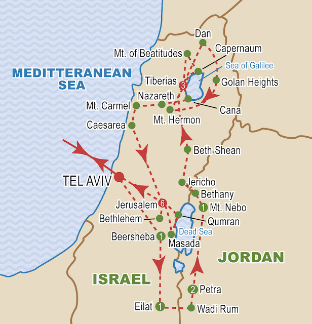 Tours To Israel And Jordan From Toronto