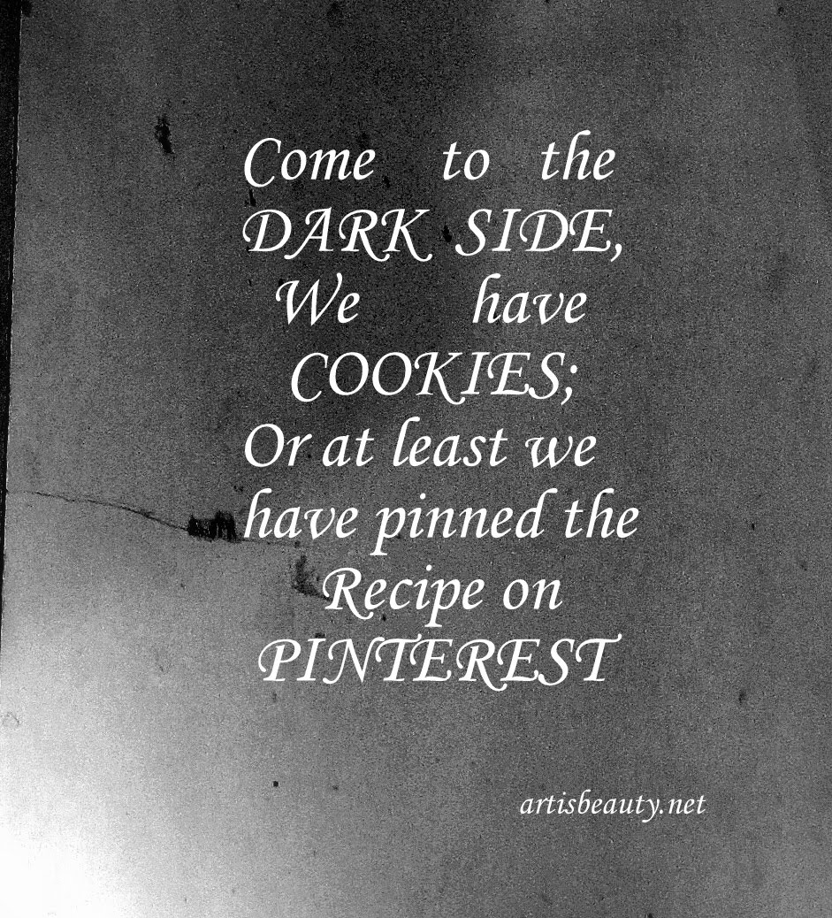 Thefurniture Com: ART IS BEAUTY: PINTEREST....come To The Dark Side..: