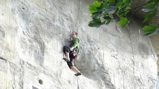 Rock Climbing on Citadel Wall - Volkspark Humboldthain Berlin