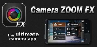 aplikasi kamera Camera ZOOM FX