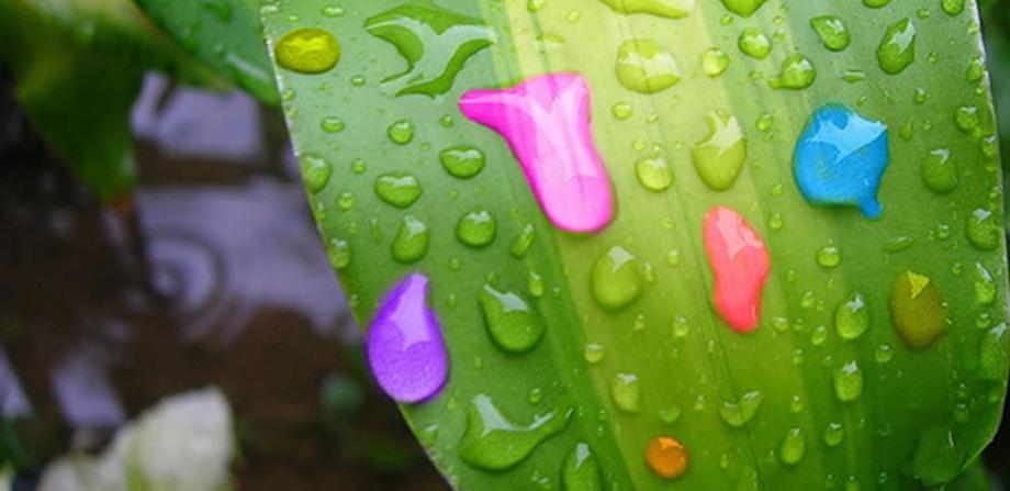 Hujan Warna Warni Teradi