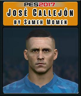 PES 2017 Faces José Callejón by Sameh Momen