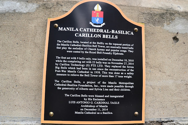 is currently ane of the 2 Castilian Colonial era churches found inwards Intramuros thingstodoinsingapore: Manila: Manila Cathedral