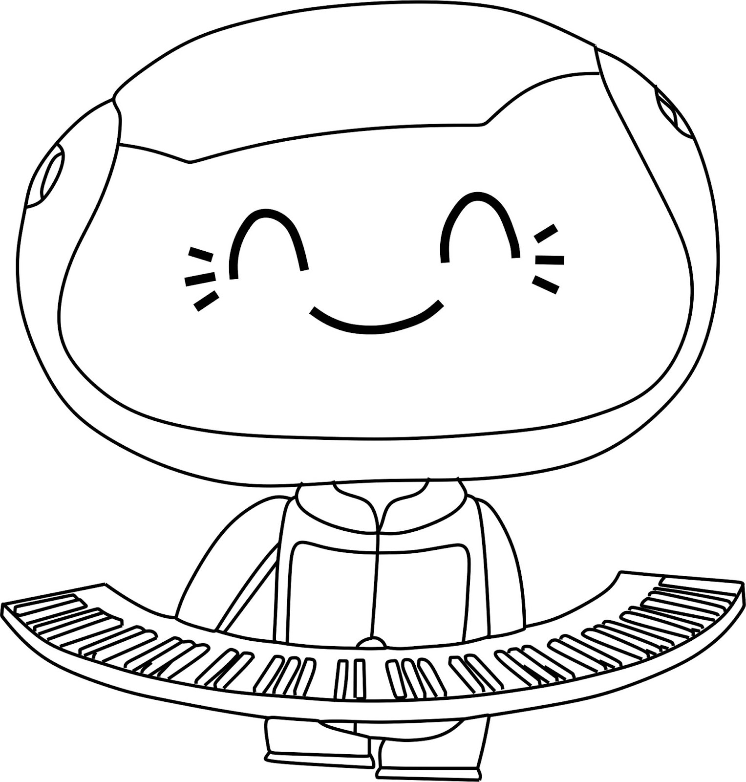 Desenhos Da Lulu Mini Beat Power Rockers Para Colorir Mini