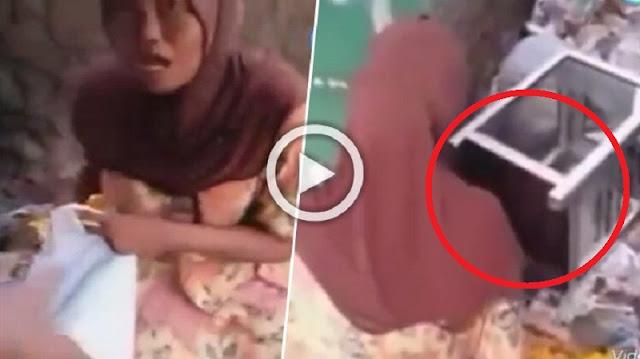 Astaghfirullah! Wanita Ini Cuek Ambil Uang di Kotak Amal, Diancam Dilaporkan ke Polisi Malah Nantang ! Parah..