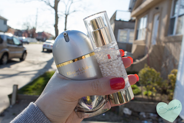 Elizabeth Arden Superstart Skin Renewal Booster ($65 | 1oz) Elizabeth Arden Flawless Future Caplet Serum ($60 | 1oz) March Favorites