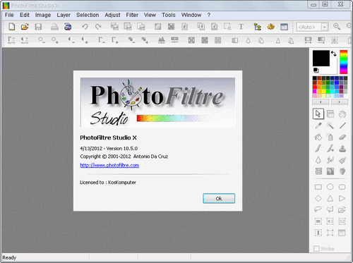 photofiltre studio x 10.5.0