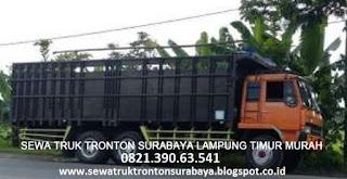 SEWA TRUK TRONTON SURABAYA LAMPUNG TIMUR (SUKADANA) MURAH