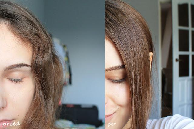 TRWAŁE prostowanie włosów – EFEKTY