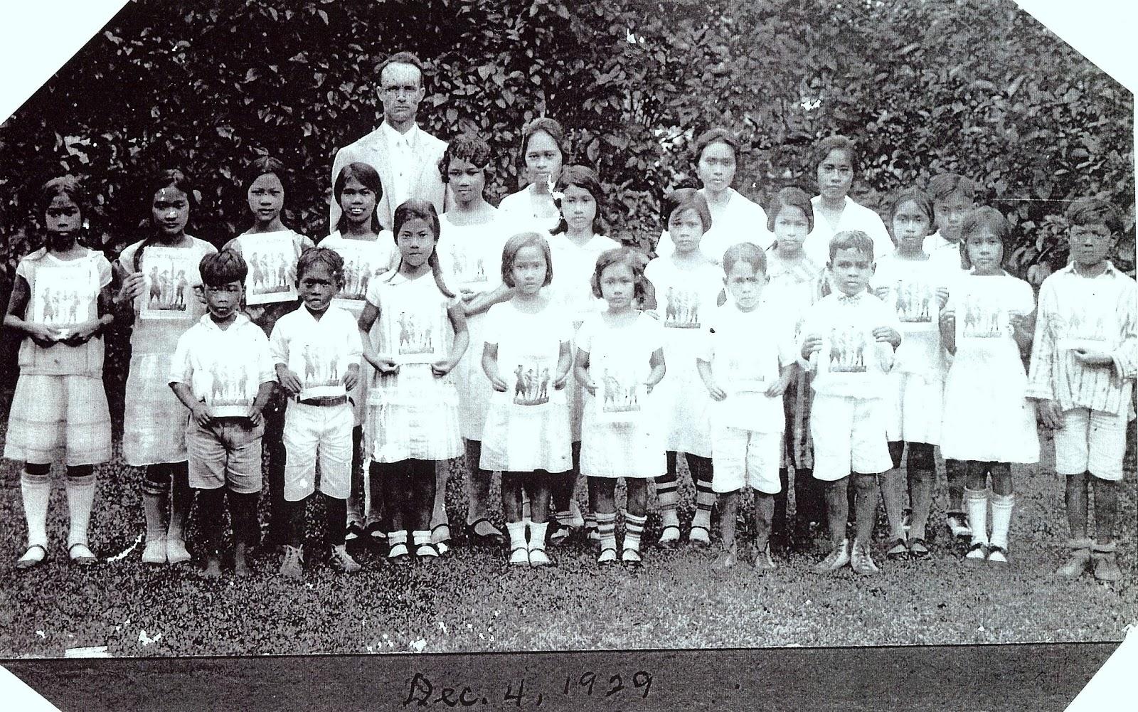 Filipino Adventist Network: Lydia Cruz: A Child of the Enclave