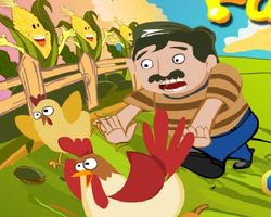لعبة افلراخ والمزارع المجنون