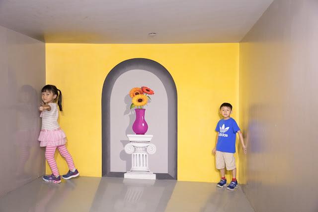 【親子好去處】特麗愛3D美術館 Trick Eye Museum @山頂廣場