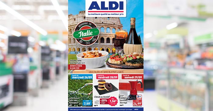 Catalogue Aldi Du 26 Septembre Au 2 Octobre 2018