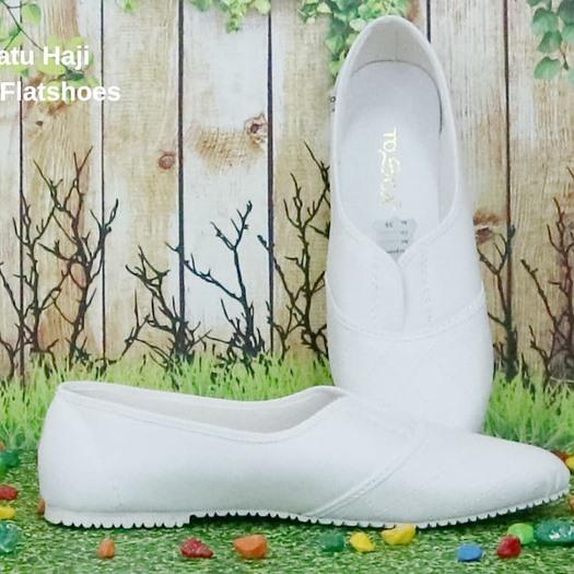 Sepatu Haji Tosca Flatshoes, oleoleh haji dan umroh, perlengkapan haji dan umroh.